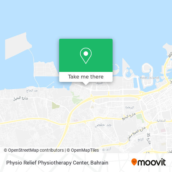 Physio Relief Physiotherapy Center map