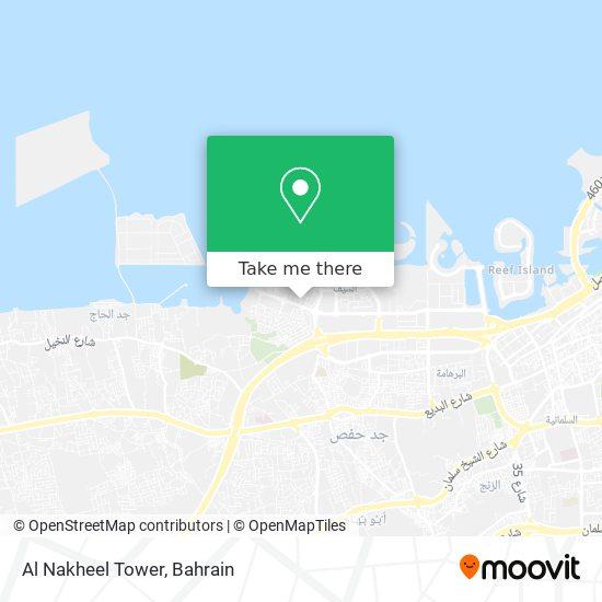 Al Nakheel Tower map