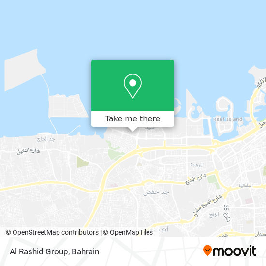 Al Rashid Group map