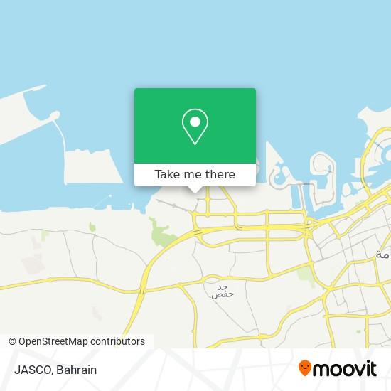 JASCO map