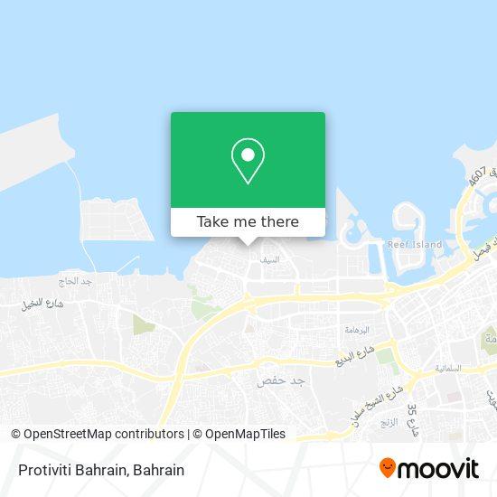 Protiviti Bahrain map