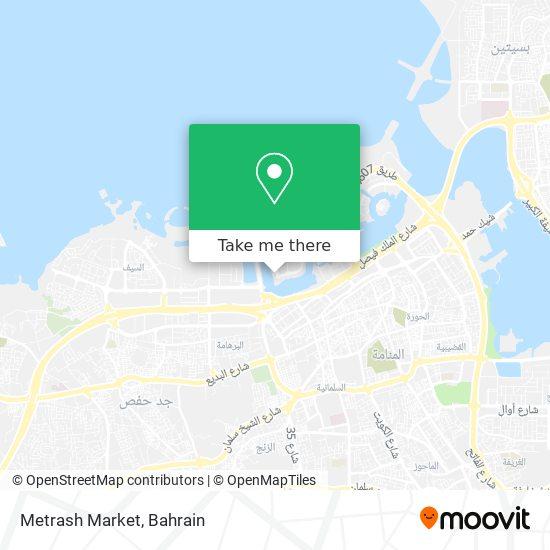 Metrash Market map