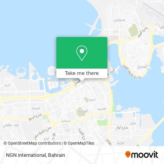 NGN international map