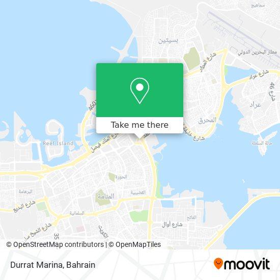 Durrat Marina map