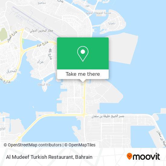 Al Mudeef Turkish Restaurant map