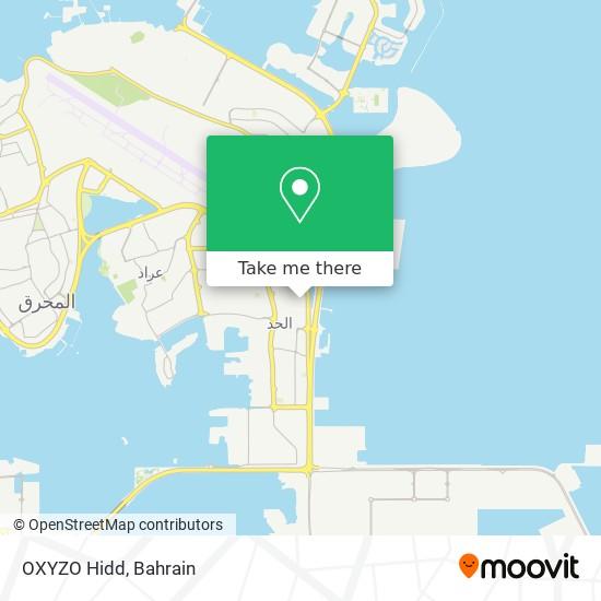 OXYZO Hidd map