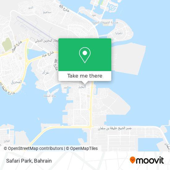 Safari Park map