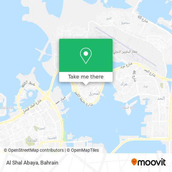 Al Shal Abaya map
