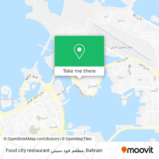 Food city restaurant  مطعم فود سيتي map