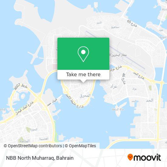 NBB North Muharraq map