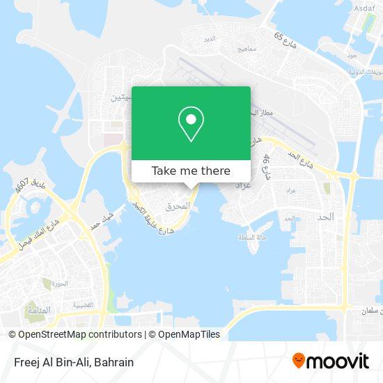 Freej Al Bin-Ali map