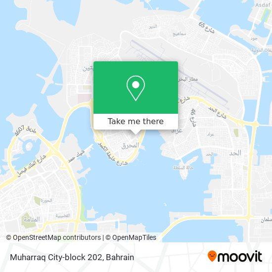 Muharraq City-block 202 map