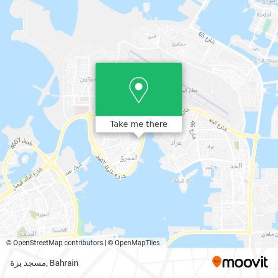 مسجد بزة map