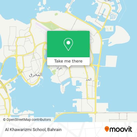 Al Khawarizmi School map