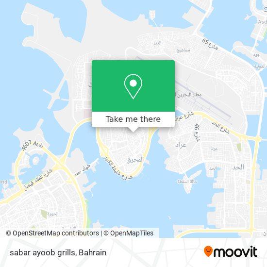 sabar ayoob grills map