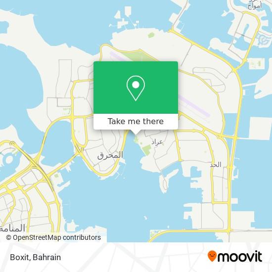Boxit map