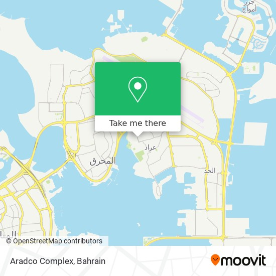 Aradco Complex map