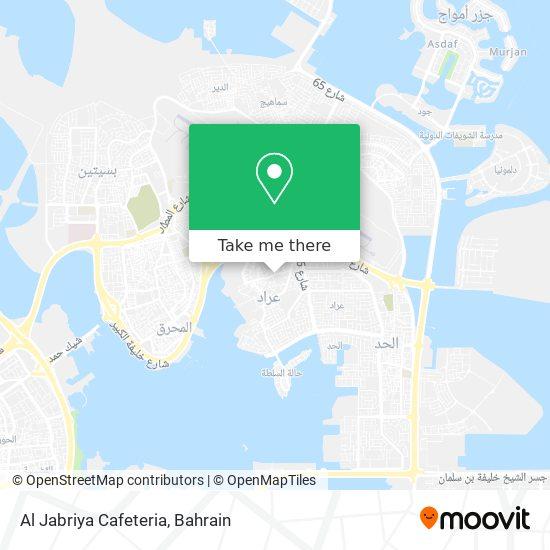 Al Jabriya Cafeteria map