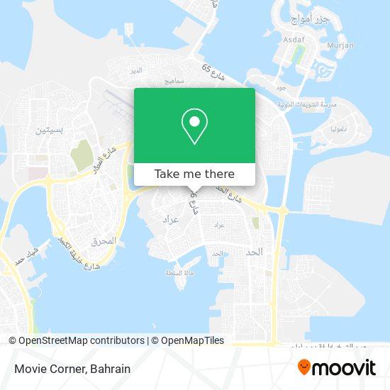 Movie Corner map