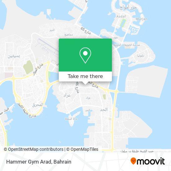 Hammer Gym Arad map