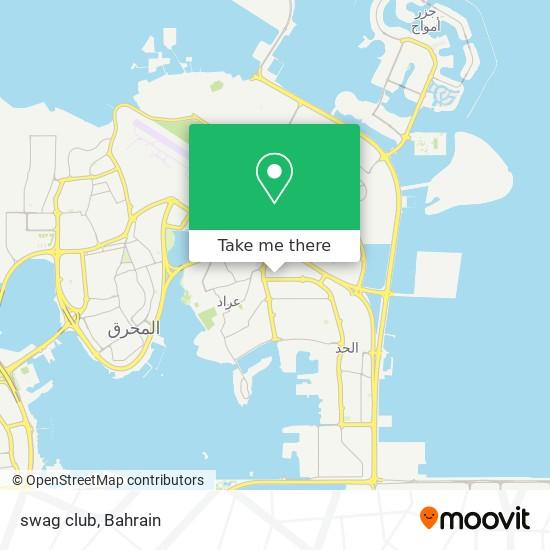 swag club map