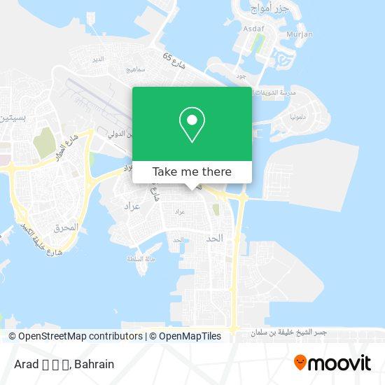 Arad  💜  map