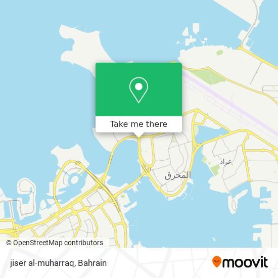 jiser al-muharraq map