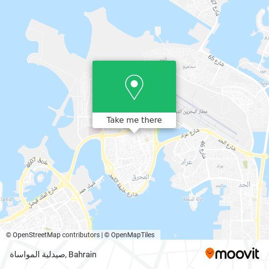 صيدلية المواساة map