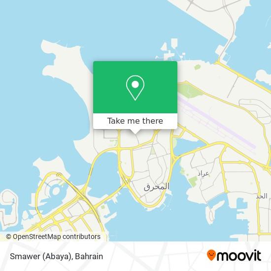 Smawer (Abaya) map