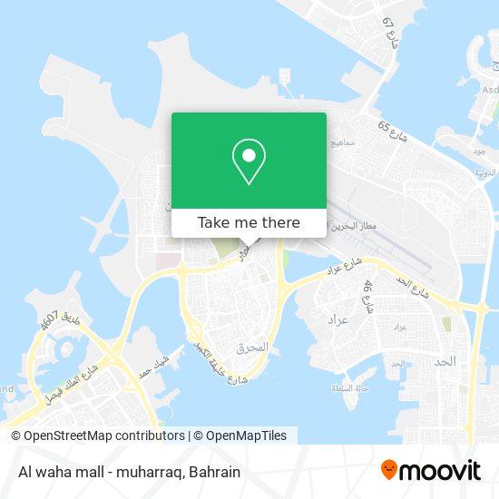 Al waha mall - muharraq map