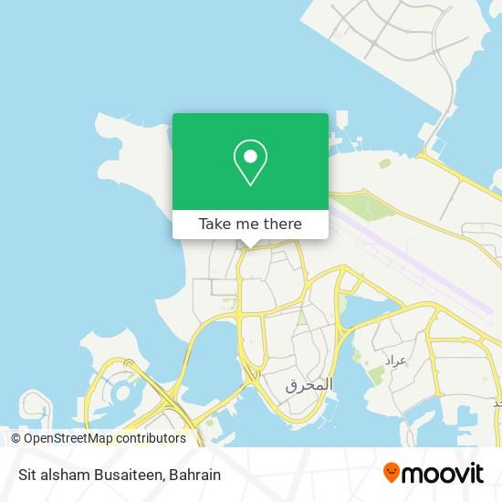 Sit alsham Busaiteen map