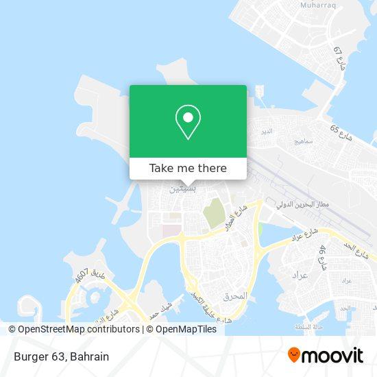 Burger 63 map