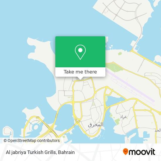 Al jabriya Turkish Grills map