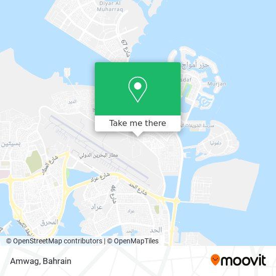 Amwag map