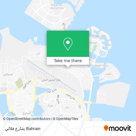 شارع قلالي map