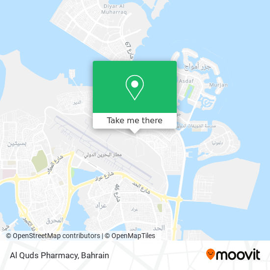 Al Quds Pharmacy map