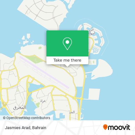 Jasmies Arad map