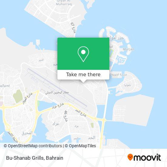 Bu-Shanab Grills map