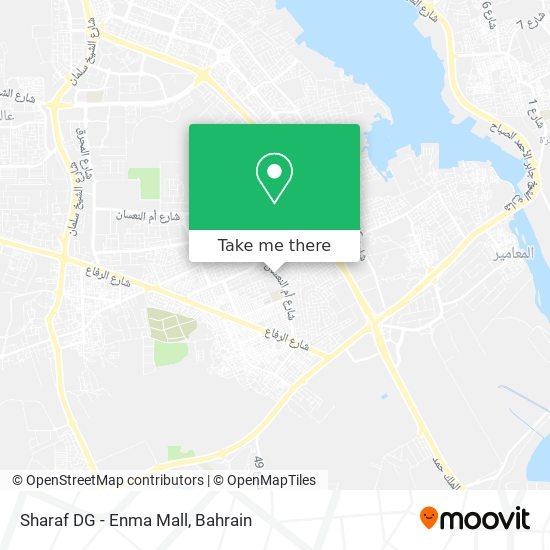 Sharaf DG - Enma Mall map
