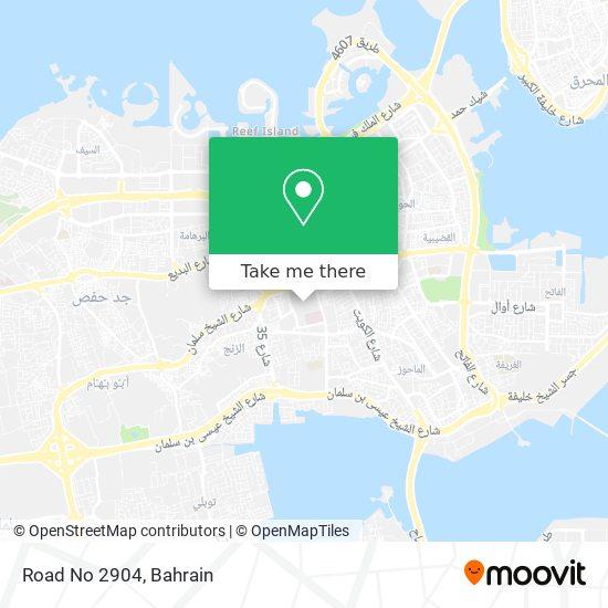 Road No 2904 map