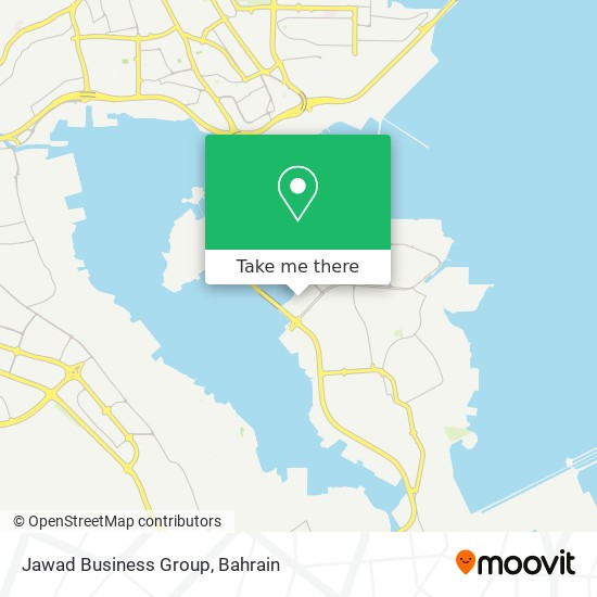 Jawad Business Group map