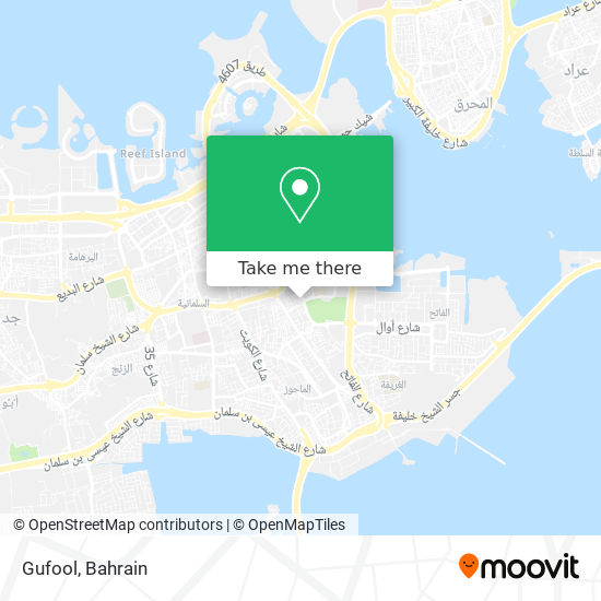 Gufool map