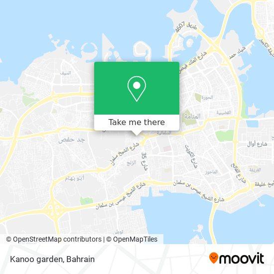 Kanoo garden map