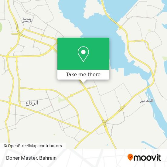 Doner Master map