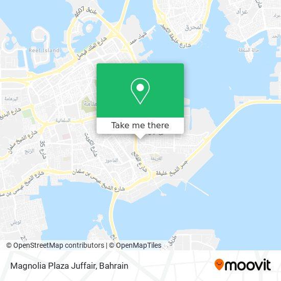 Magnolia Plaza Juffair map