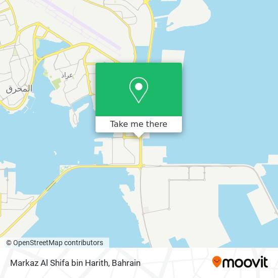 Markaz Al Shifa bin Harith map