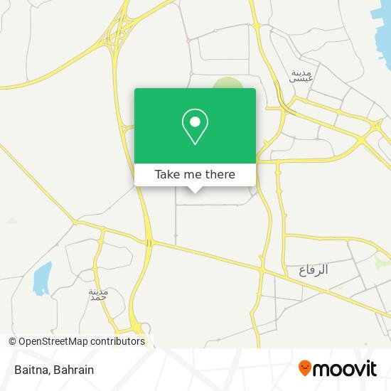 Baitna map