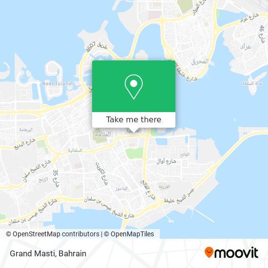 Grand Masti map