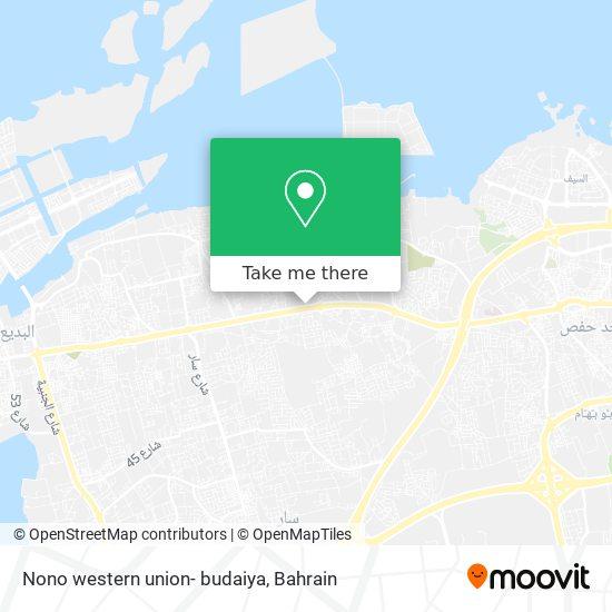 Nono western union- budaiya map