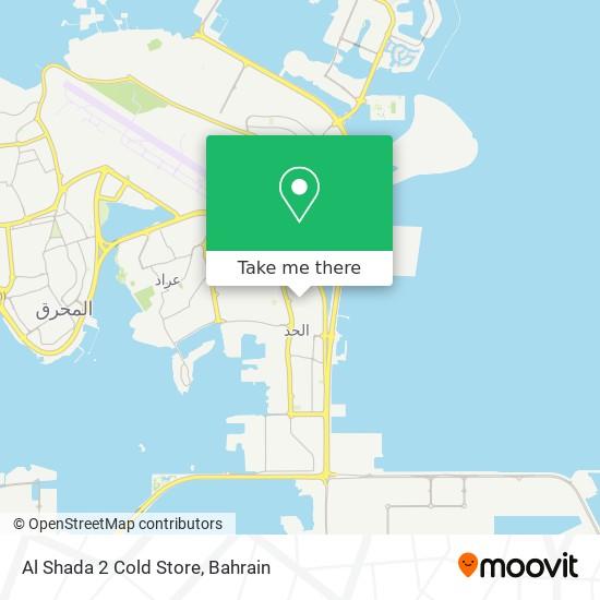 Al Shada 2 Cold Store map